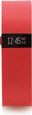 Fitbit Charge HR(Orange) at flipkart