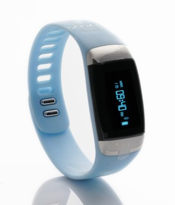 Lycos Life Advanced Interactive Smart Band, Icy Blue
