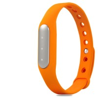 Bingo TW02 Orange Heart Rate Monitoring Fitness Band Suitable for android and IOS(Orange