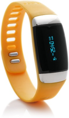 Lycos Life Advanced Interactive Smart Band, Alpenglow Orange(Orange)