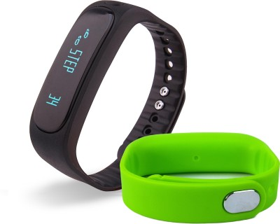 fbandz E02 Bluetooth Smartband with 1 Additional Replacement Color Bands for iOS Android