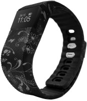 fbandz ™ Ethinic64 Fitness Band Smart Health Bracelet Bluetooth Wristband Fashionable Activity Tracker(Black)