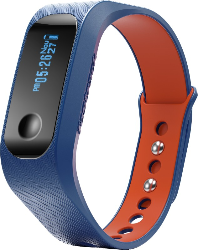 Fastrack Reflex Smart Band(Blue, Orange)