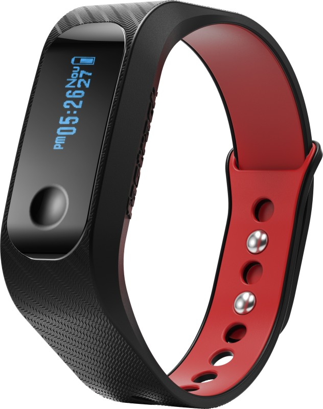 Fastrack Reflex Smart Band(Black, Red)