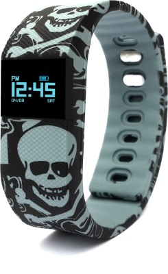 "NoWhereElse â""¢ TW64 Smartband Printed Skull Bands Veryfit For IOS Android"