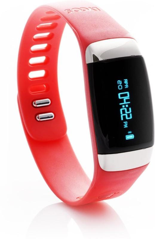 Lycos Life Advanced Interactive Smart Band, Coral Red(Red)