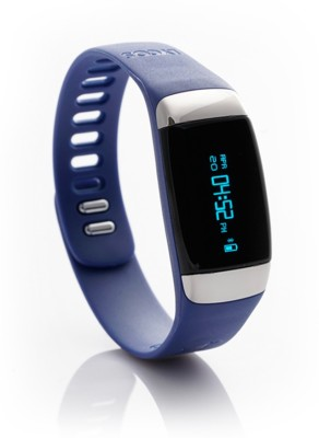 Lycos Life Advanced Interactive Smart Band, New England Navy(Blue)