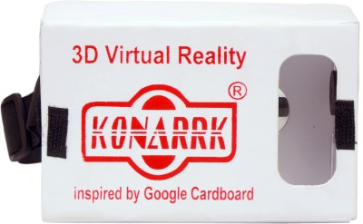 KONARRK Wireless VR 3D Video Glass Inspired by Google Cardboard(Smart Glasses)