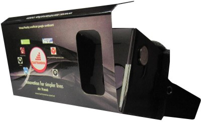 Tantransha Tantransha Virtual Reality Cardboard Viewer Fully Assembled Inspired By Google Cardboard (v1) Video Glasses(Smart Glasses)