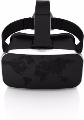 Techbyte 3rd Gen 3D VR Box Virtual Reality Head Mount Glasses (Black)