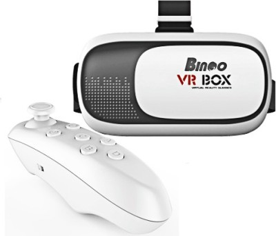 Bingo V200 Virtual Reality 3D VR Box with Bluetooth Remote Controller(Smart Glasses)