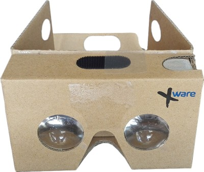 Xware 3D VR International Quality Glasses - Mobile Phone Virtual Reality 3D Glasses, NFC, For iPhone + Android Phones. From the makers of Internationally renowned I AM CARDBOARD
