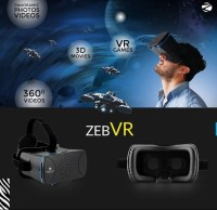 Zebronics Mobile Phones, Tablets - Zebronics GAMING VIRTUAL REALITY HEADSET(Smart Glasses)