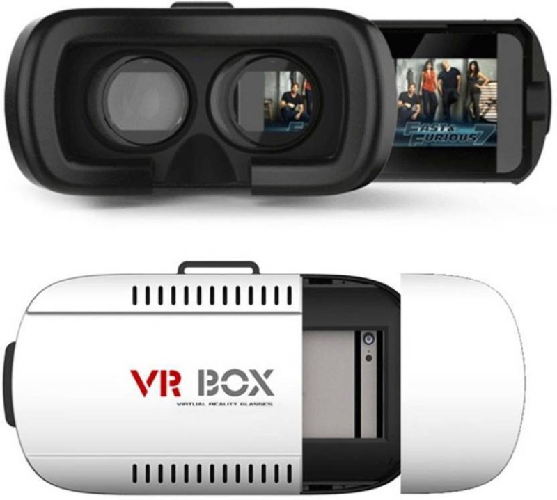 The Smokiee Virtual Reality 3D Glasses With VR Remote(Smart Glasses)