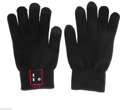 Mobile Gear Talking Gloves(M Black)