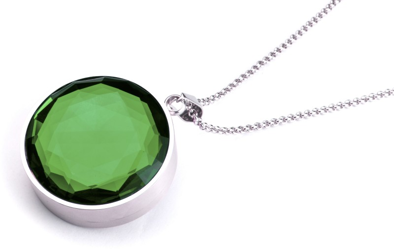 LEAF Aura, Emerald Green Pendant, White Safer V1.0 Smart Pendant(Green, White)