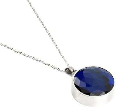 Leaf Trust, Sapphire Blue Pendant, White Safer V1.0 Smart Pendant