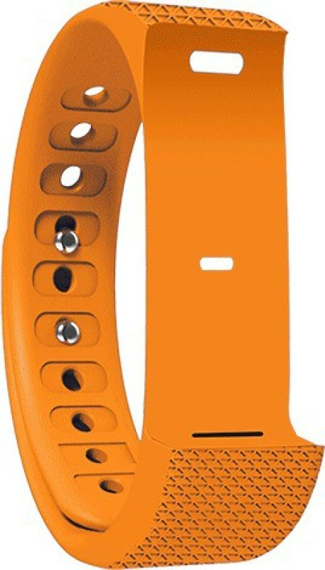 Shaman Orange Wrist Strap Smart Band Strap(Orange)
