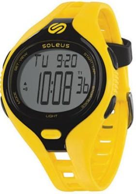 soleus SR018-020 Smart Watch Strap(Black, Yellow)