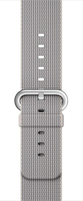 EWOKIT Pearl Nylon iWatch Smart Watch Strap(White, Grey)