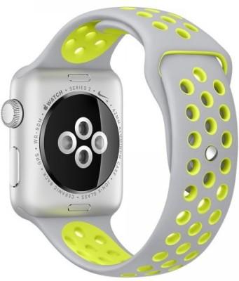 i10 Apple 42mm Smart Watch Strap(Grey, Yellow)