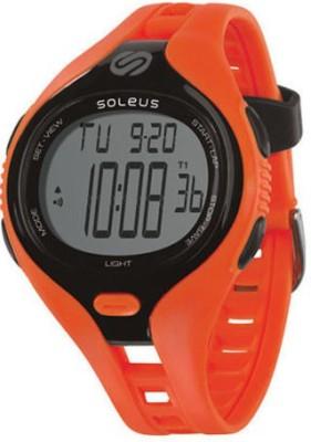 soleus SR018-801 Smart Watch Strap(Orange, Black)