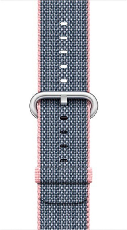 Apple MNK62ZM/A Smart Watch Strap(Pink, Blue)