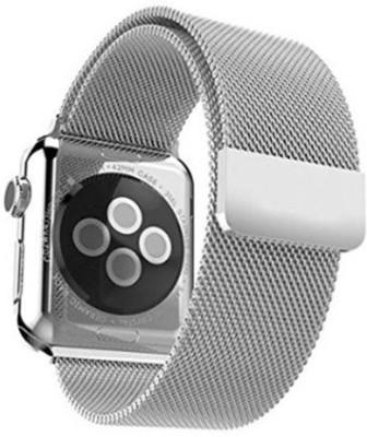 Proelite Stainless Steel Milanese 38 mm Smart Watch Strap(Mullti Color)