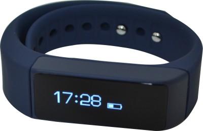 Merlin Actifit Smart Band Smart Watch Strap(Black, Blue)