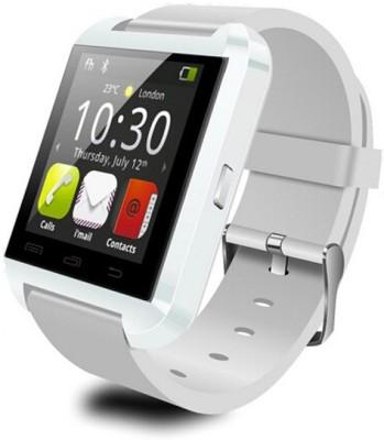 Safeway Advanced U8 Smartwatch(White Strap Regular)