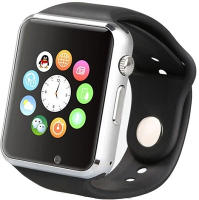 Life Like A1 BLUETOOTH WITH SIM CARD & SD CARDSUPPORT Smartwatch(Black Strap)