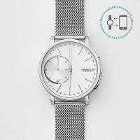 Skagen Connected (For Men) Smartwatch(Silver Strap Regular)