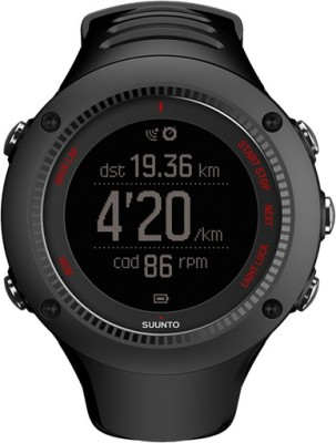 Suunto SS021257000 Ambit3 Run HR Digital Smartwatch