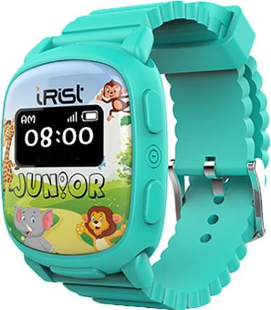 Intex iRist JUNIOR Turquoise Blue Smartwatch(Blue Strap Regular)