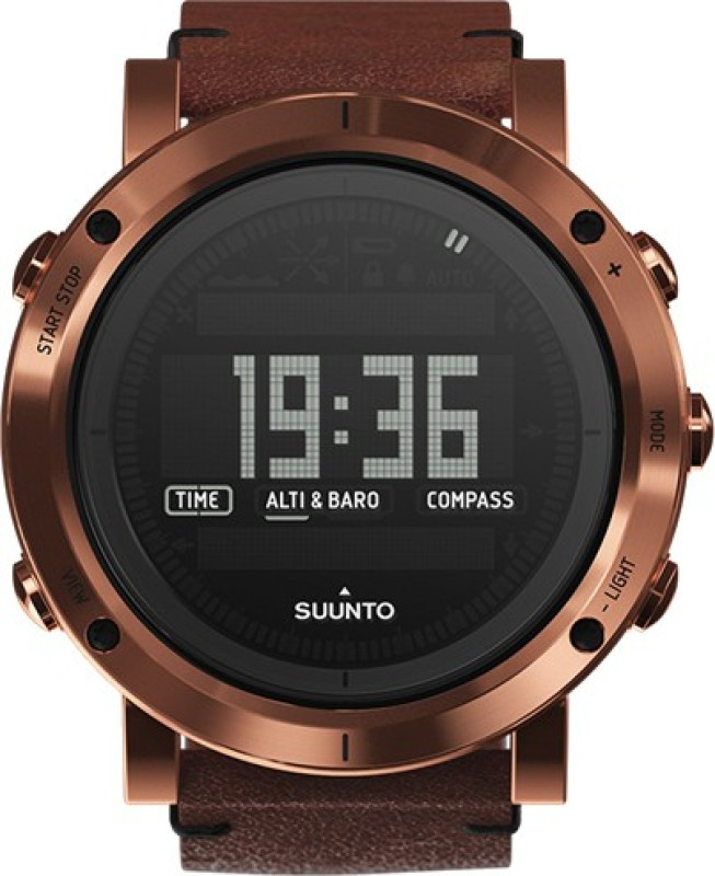 Suunto SS021213000 Essential Copper Smartwatch(Brown Strap)