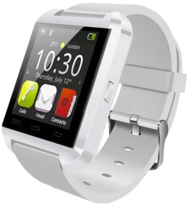 Bingo U8 White Fit For Smartphones Supports Bluetooth Smartwatch(White Strap Regular) at flipkart