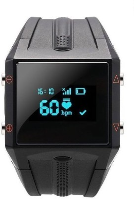 Maya Smart Watch with Heart Rate and Waterproof Smartwatch(Black Strap)