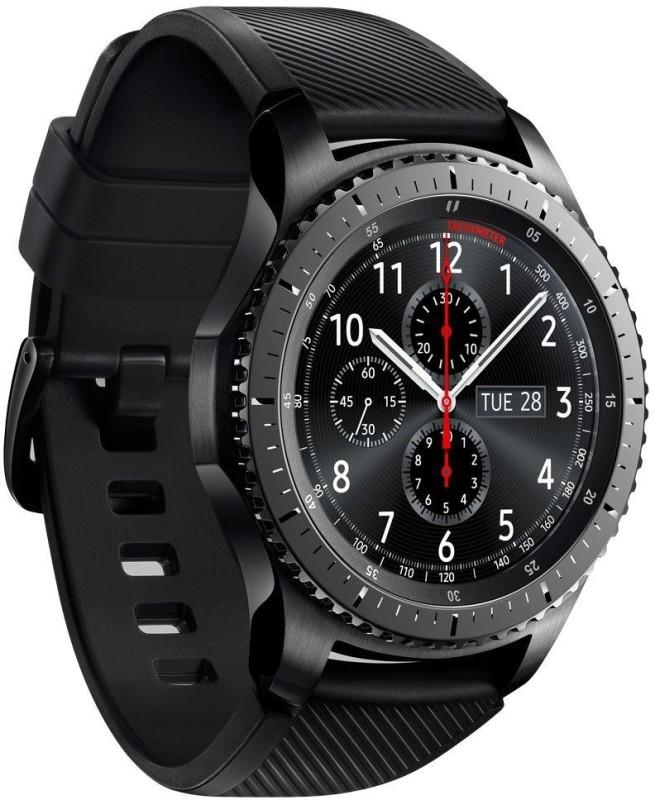 SAMSUNG Gear S3 - Frontier Smartwatch(Black Strap)