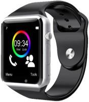 Medulla APL2.0 GSM SIM card Camera Video Recorder Fitness Tracker Bluetooth Silver Smartwatch(Black Strap Regular)
