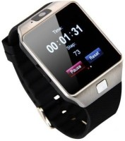 Aomax For All Device White Smartwatch(Black Strap Regular)