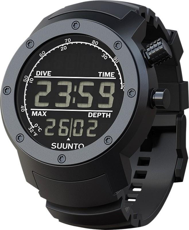 Suunto SS014528000 Elementum Aqua Smartwatch(Black Strap)
