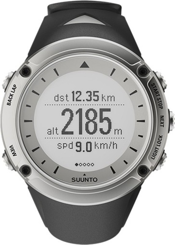 Suunto SS018372000 Ambit Digital Smartwatch(Silver Strap)