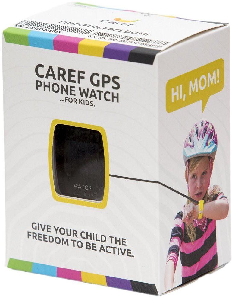 Caref GPS Tracker Peppy Blue, Shiny Pink, Bright Green, Ambient Purple Smartwatch(Blue, Pink, Purple, Black Strap Regular)