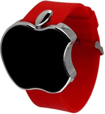 Castech Metallic Apple Shape Touch Screen LED Digital Watch  - For Boys, Girls