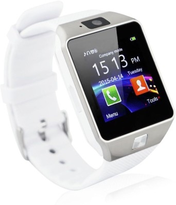 Life Like DZ09 BLUETOOT WITH SIM CARD & SD CARD SUPPORT Smartwatch(White Strap)