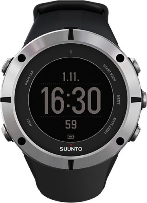 Suunto SS019182000 Ambit2 Digital Sapphire Smartwatch(Black Strap)