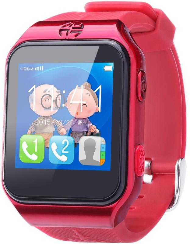 FindU FY02S Smartwatch(Red Strap)
