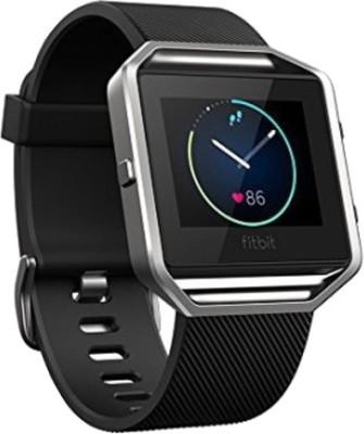 Fitbit Blaze Black Silver Smartwatch