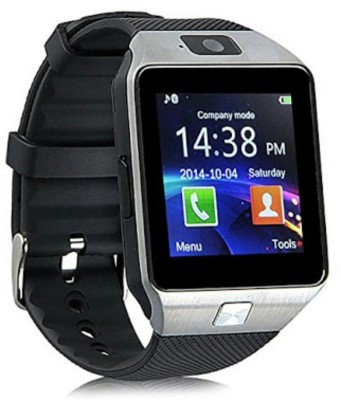 Noosy DZ09-21 Bluetooth with Built-in Sim card and memory card slot Compatible with All Android Mobiles Black Smartwatch(Black Strap) at flipkart