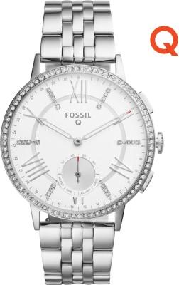 Fossil Q Gazer Hybrid Smartwatch(Silver Strap)